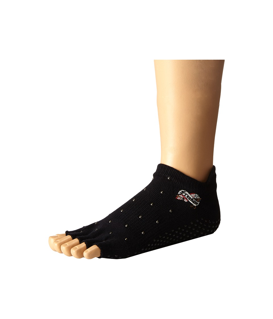 toesox - Low Rise Half Toe w/ Grip (Freedom) Women's No Show Socks Shoes