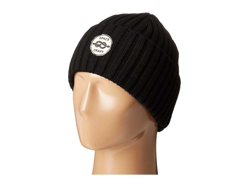 Spacecraft - Square Knot (Black) Beanies