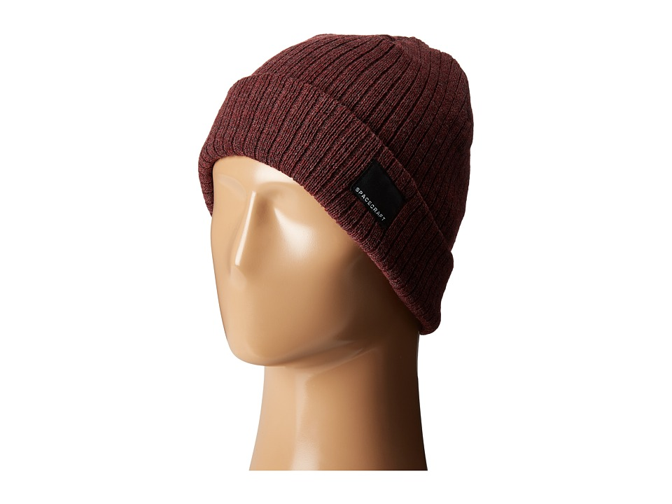 Spacecraft - JW Beanie (Dark Red) Beanies