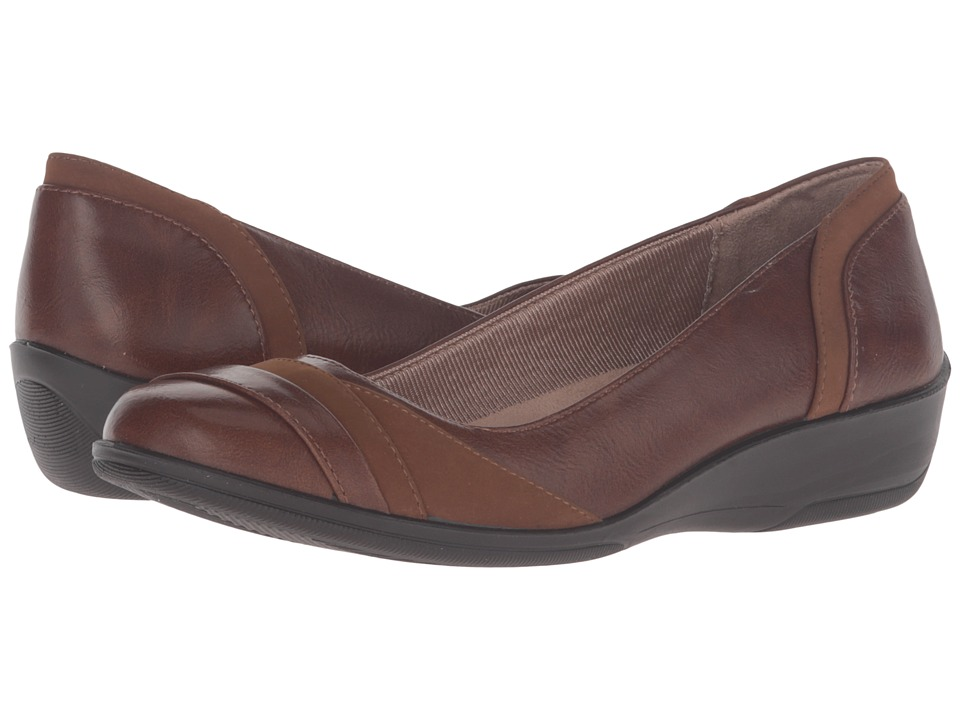LifeStride Indeed (Dark Tan) Women
