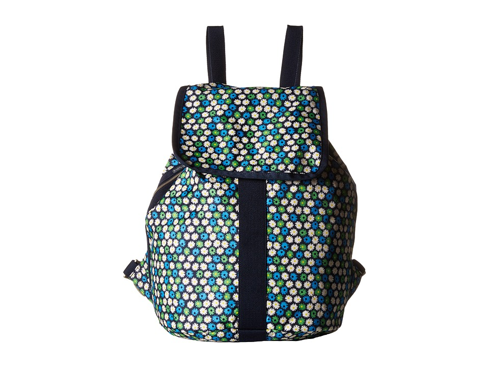 LeSportsac - Shopper Backpack (Travel Daisy) Backpack Bags