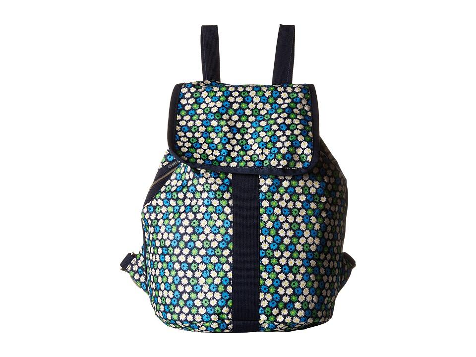 LeSportsac - Shopper Backpack (Travel Daisy) Backpack Bags