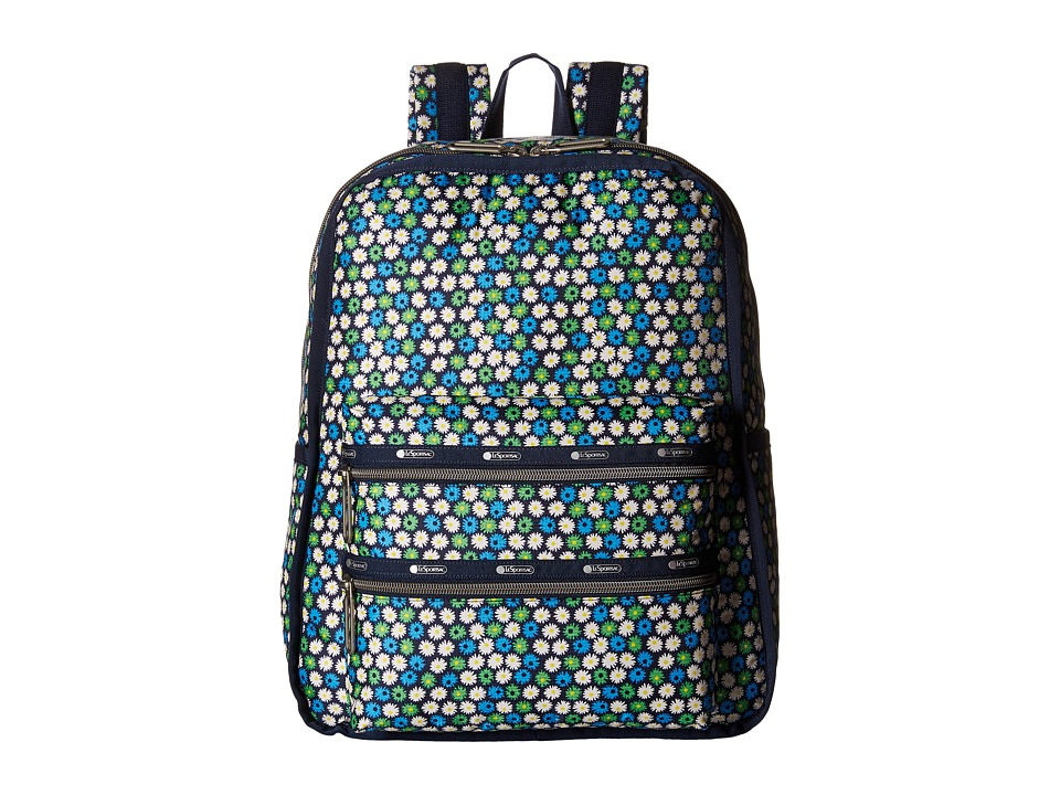 LeSportsac - Functional Backpack (Travel Daisy) Backpack Bags