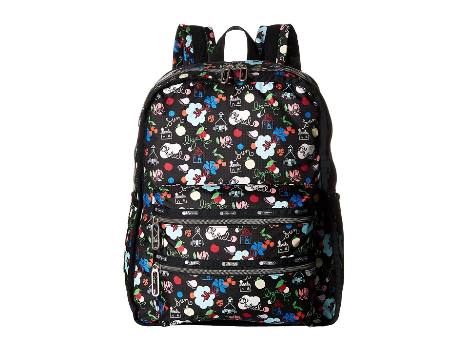 LeSportsac - Functional Backpack (School's Out) Backpack Bags