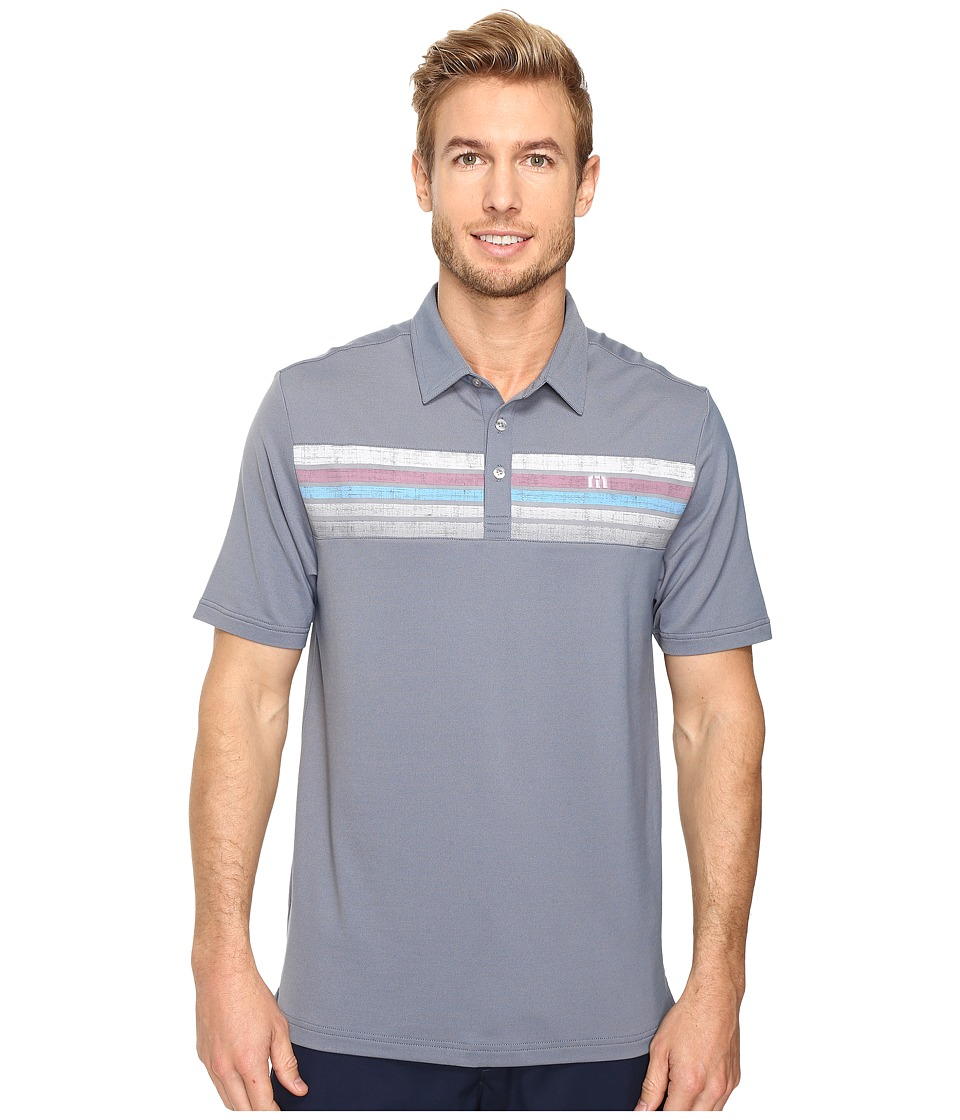 TravisMathew - Cline Polo (Dark Blue) Men's Clothing