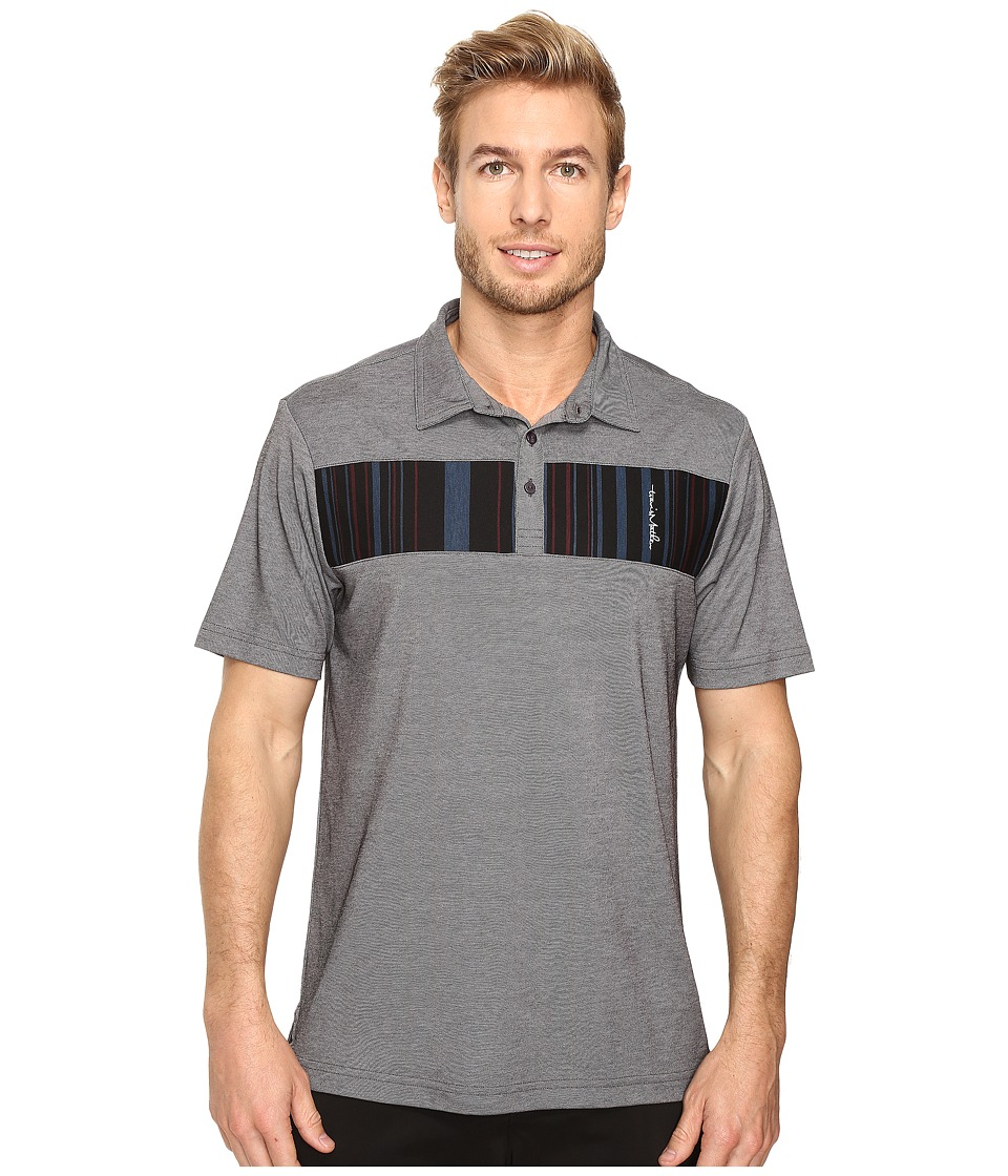 TravisMathew - Babs Polo (Castlerock Black) Men's Clothing
