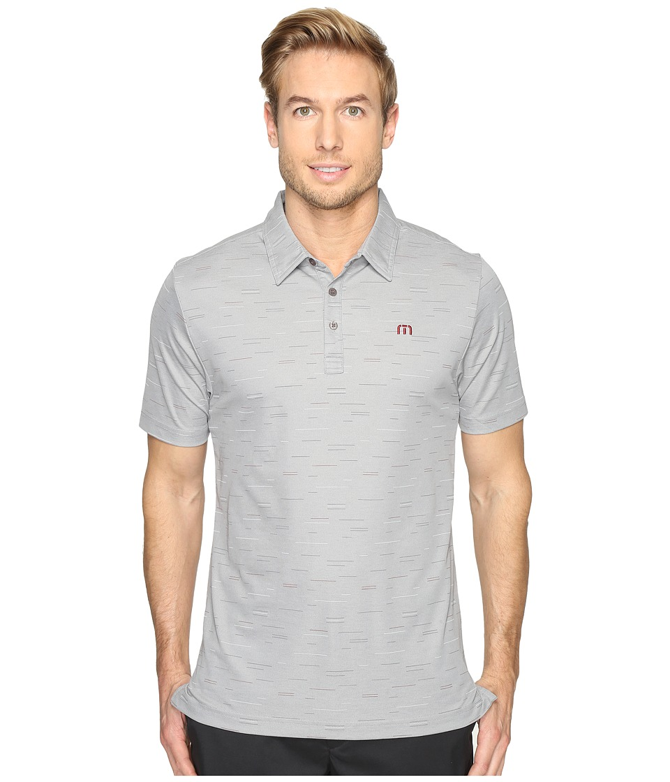TravisMathew - Medina Polo (Quiet Shade/Micro Chip) Men's Clothing