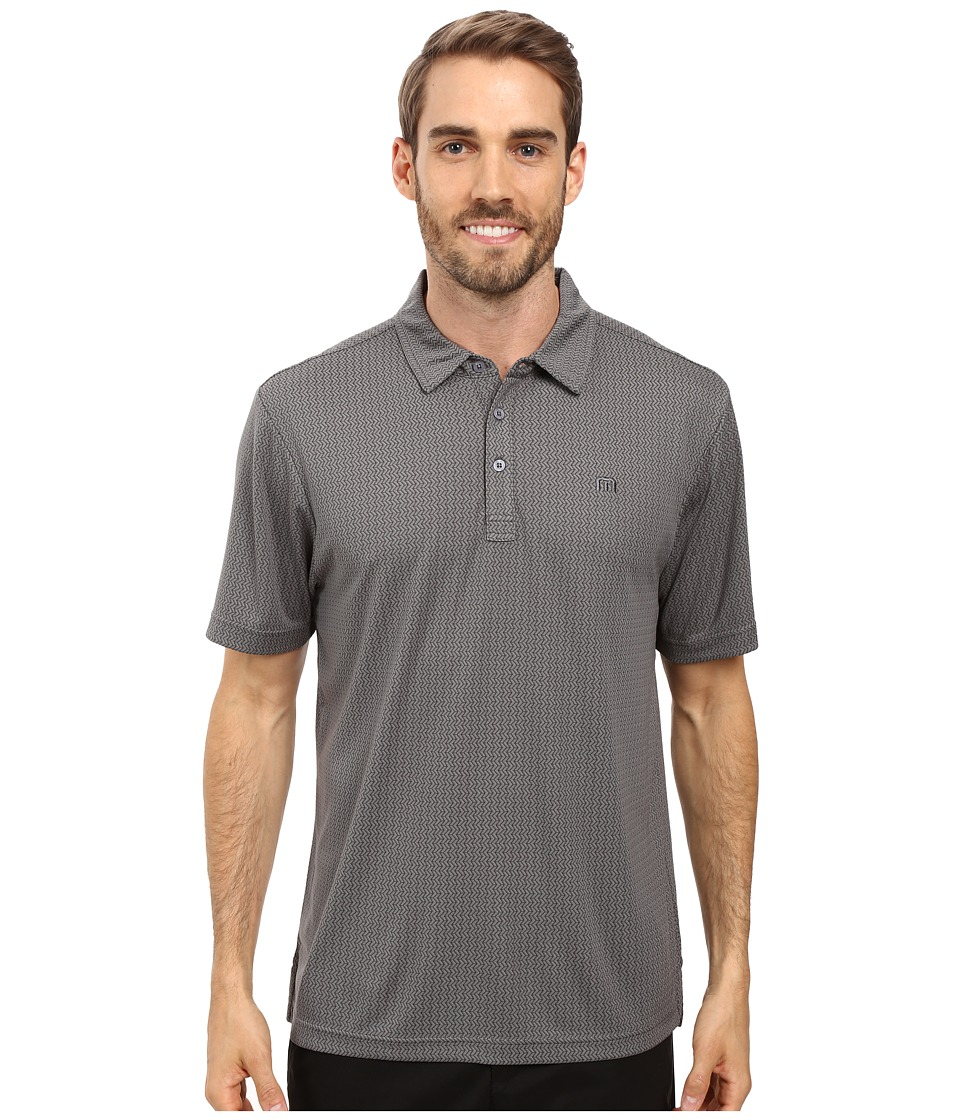 TravisMathew - McPhail Polo (Magnet/Quiet Shade) Men's Clothing