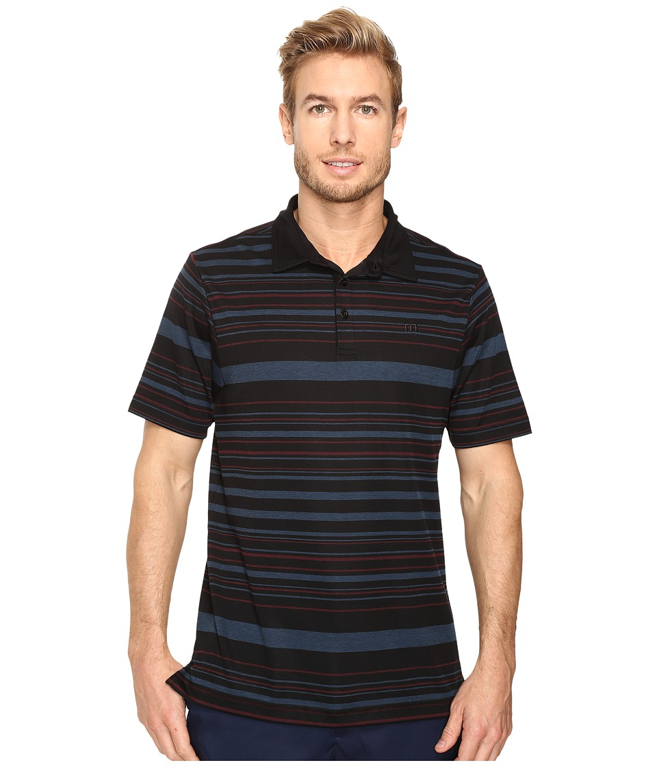 TravisMathew - Lawdy Dawdy Polo (Black) Men's Clothing