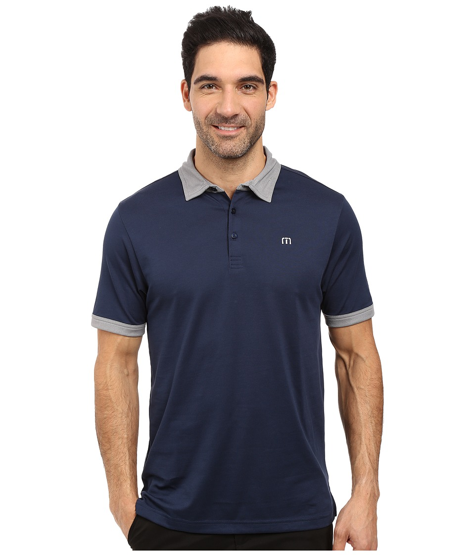 TravisMathew - Lil Buddy Polo (Dress Blues) Men's Clothing