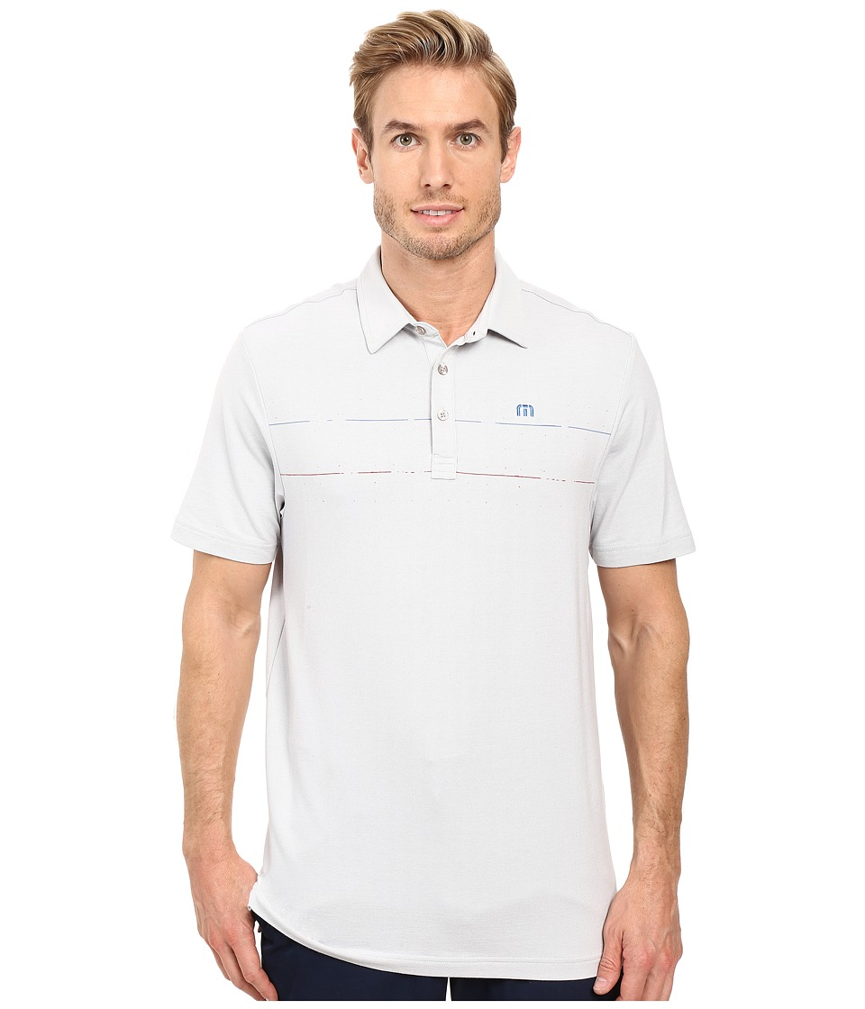 TravisMathew - Simpson Polo (Micro Chip) Men's Clothing