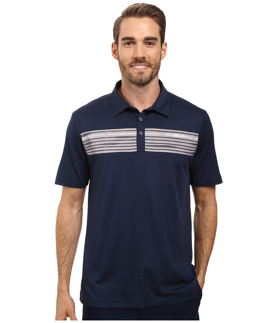 TravisMathew - Holmes Polo (Dress Blues) Men's Clothing