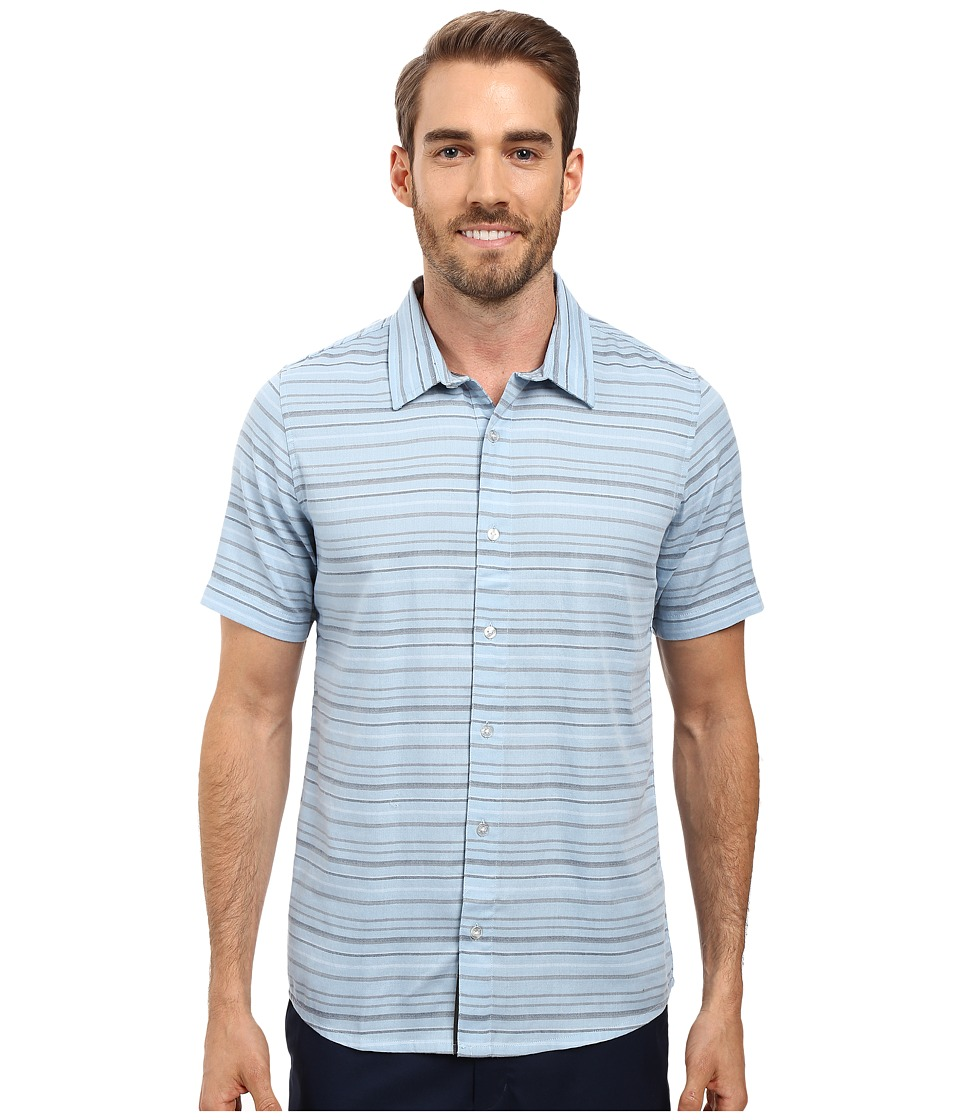 TravisMathew - Alikov Woven (Angel Falls) Men's Clothing