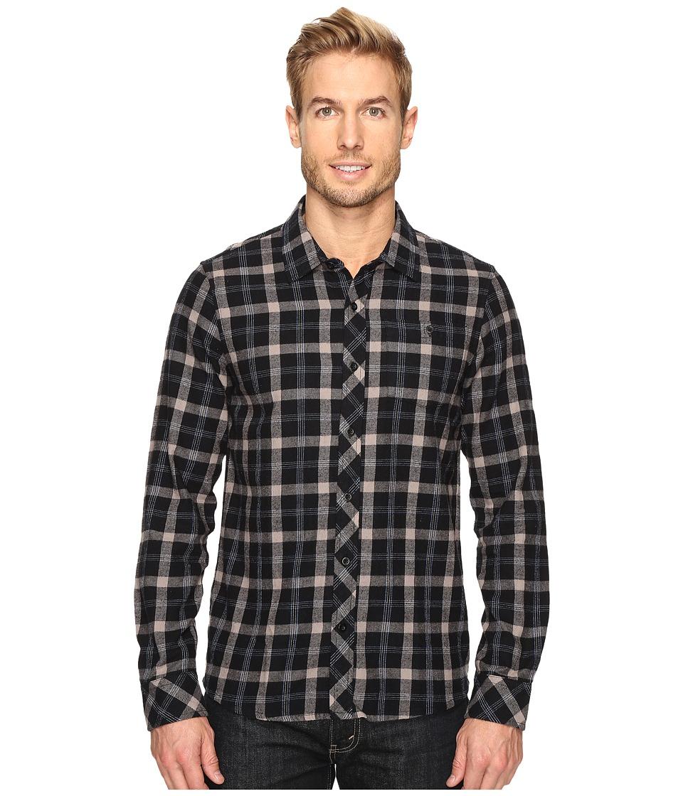 TravisMathew - Braden Woven (Black) Men's Clothing