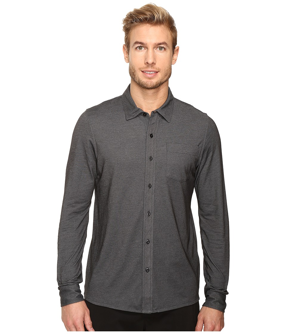 TravisMathew - Trip Woven (Black) Men's Clothing