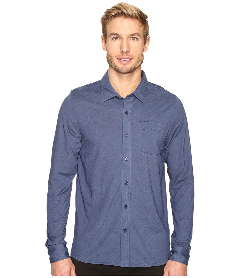 TravisMathew - Trip Woven (Iris) Men's Clothing
