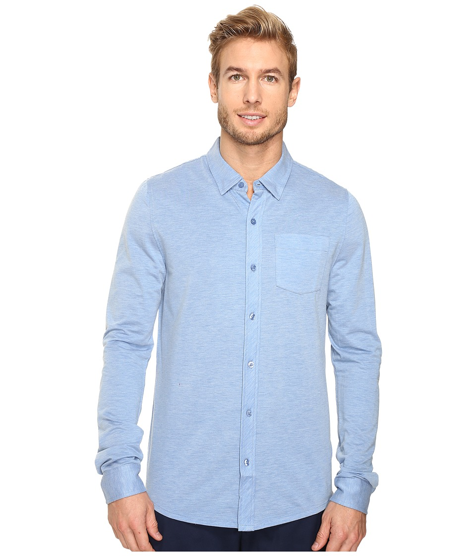 TravisMathew - Jeremy Woven (Angel Falls) Men's Clothing