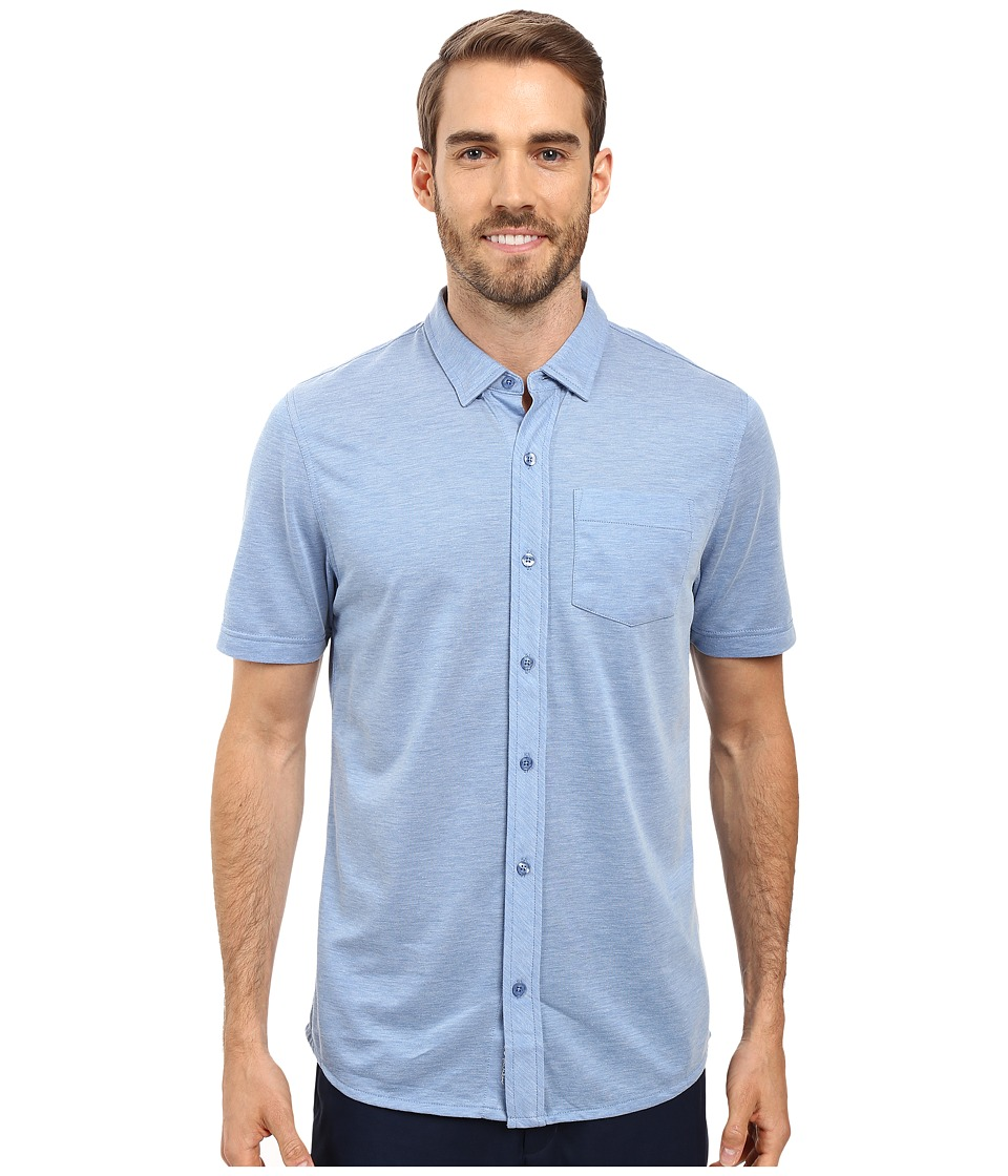 TravisMathew - Potter Woven (Angel Falls) Men's Clothing