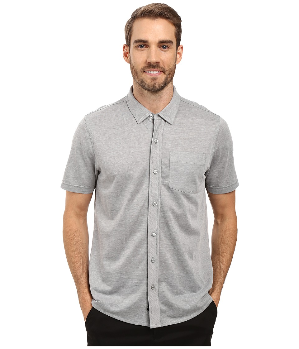 TravisMathew - Potter Woven (Quiet Shade) Men's Clothing