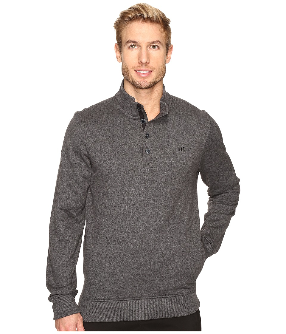 TravisMathew - Wall Sweater (Quiet Shade/Black) Men's Sweater