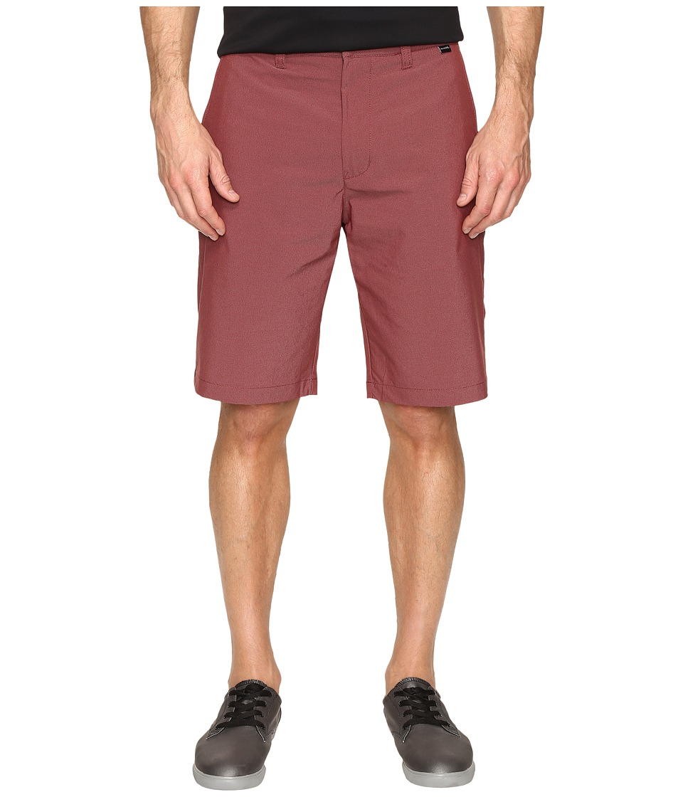 TravisMathew - Hefner Short (Oxblood) Men's Shorts