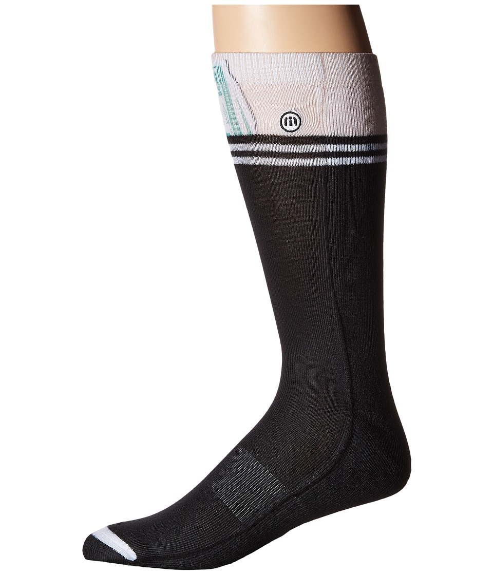 TravisMathew - C-Note Sock (Black) Men's Crew Cut Socks Shoes