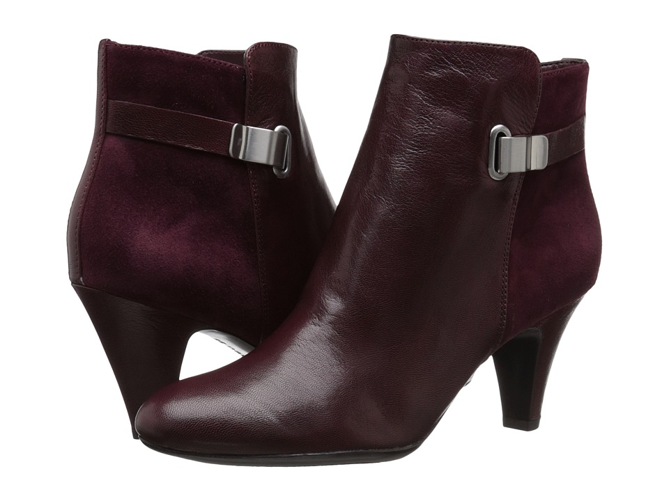 Naturalizer - Blake (Wine Suede) Women