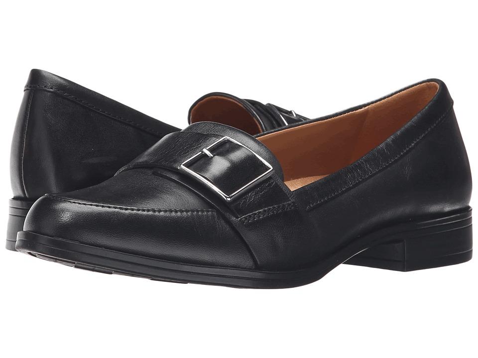Naturalizer - Melanie (Black Leather) Women's Shoes