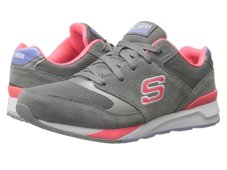 SKECHERS - OG 90 - Rad Runners (Gray) Women's Lace up casual Shoes