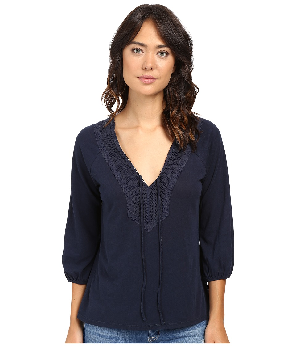 Sanctuary - Rebecca Tee (True Indigo) Women's T Shirt