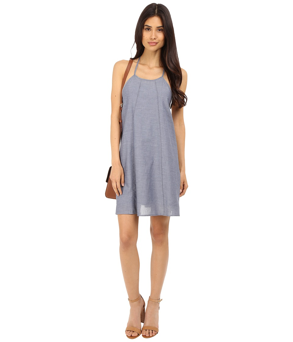 Clayton - Chambray Leah Dress (Chambray) Women's Dress