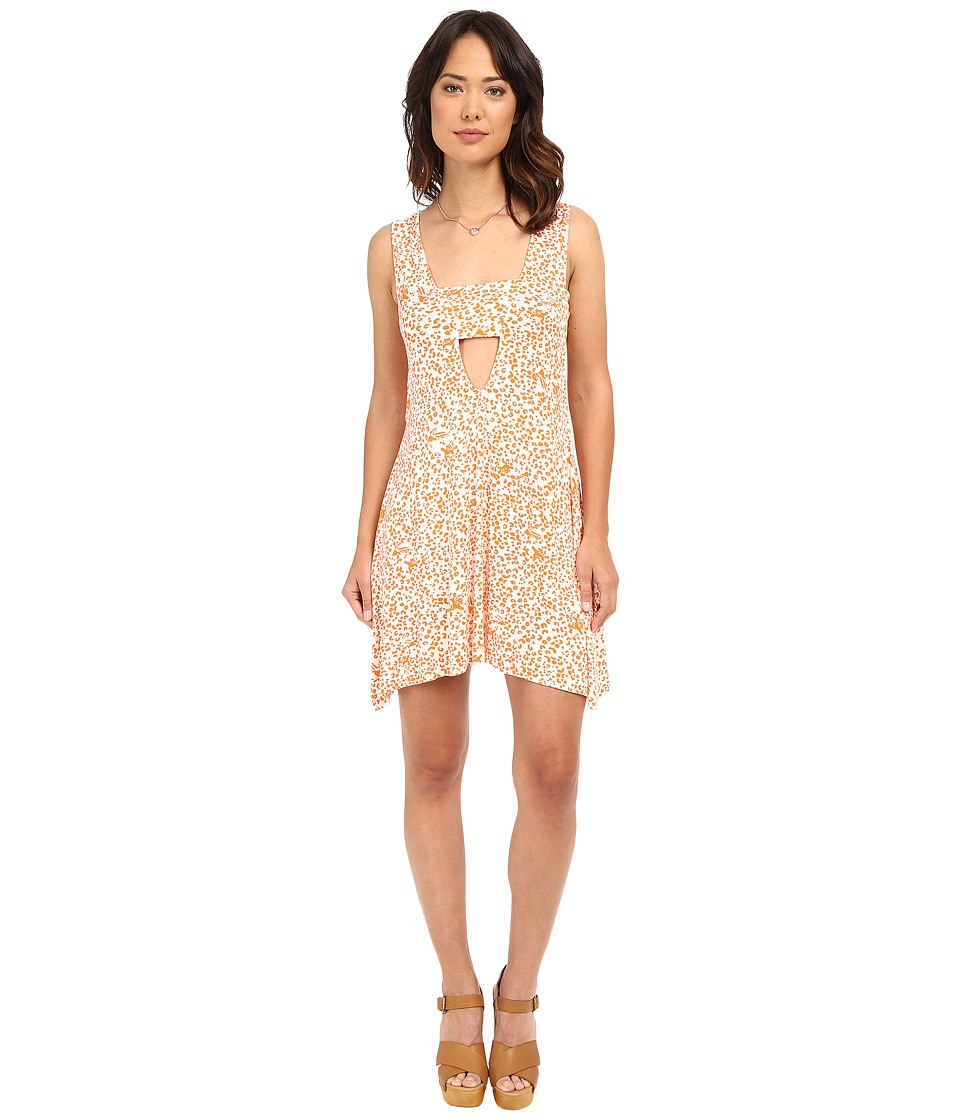 Clayton - Shella Dress (Tangerine Leopard) Women's Dress
