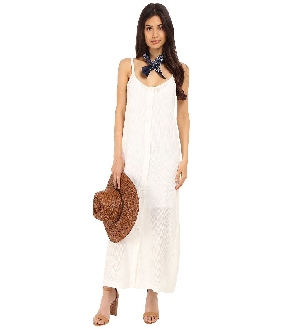 Clayton - Linen Monica Dress (Ivory) Women's Dress