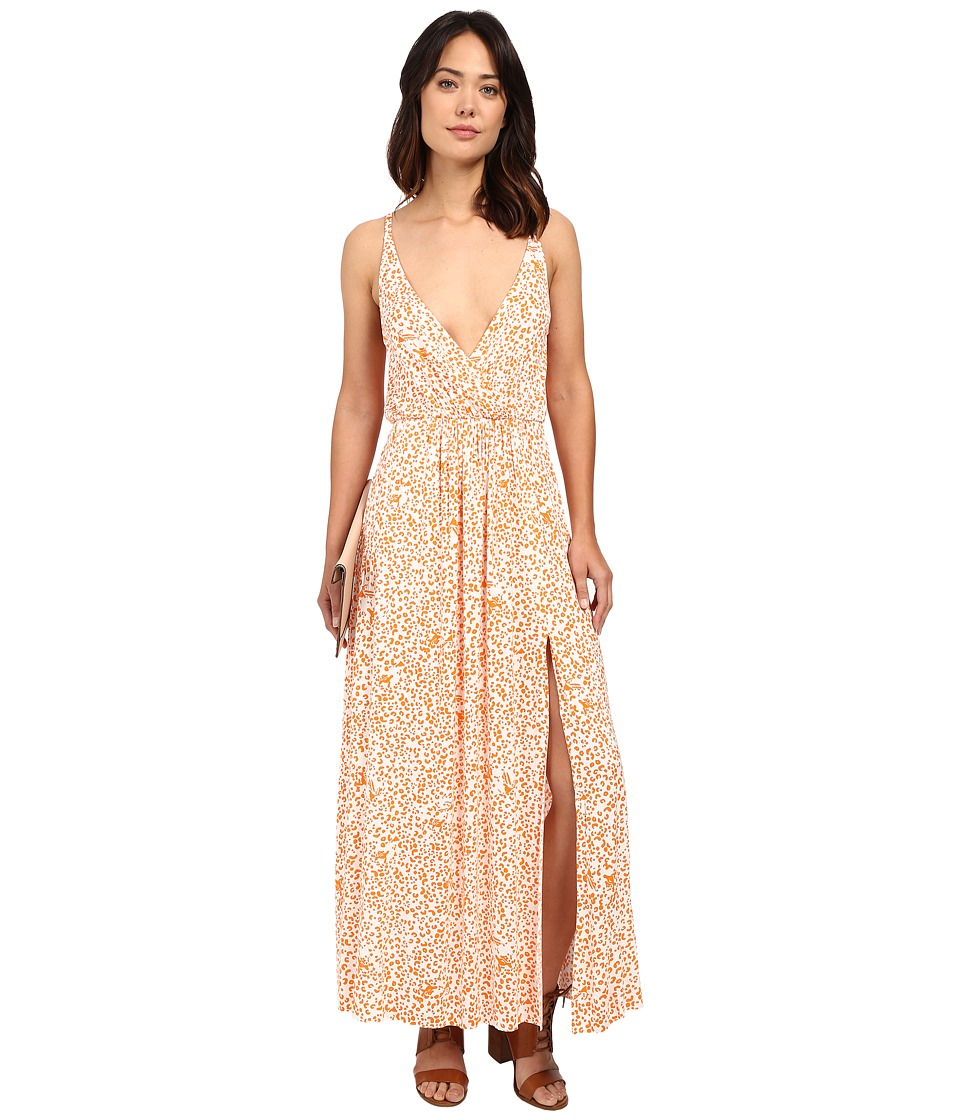 Clayton - Aniya Dress (Tangerine Leopard) Women's Dress