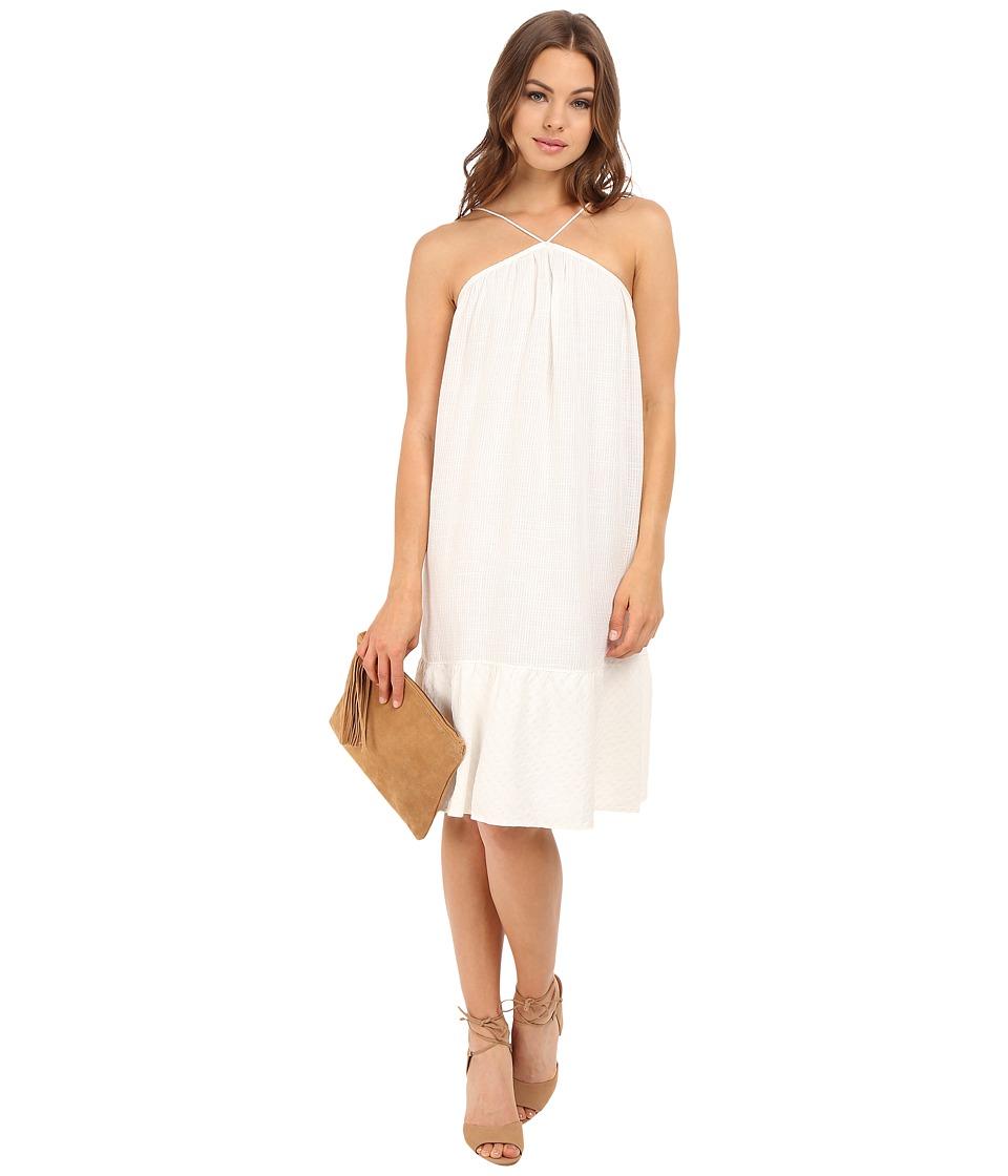 Clayton - Linen Anisa Dress (Ivory) Women's Dress