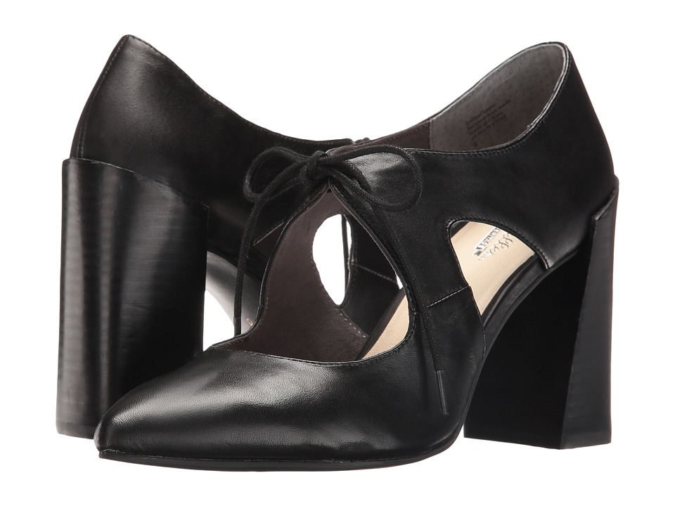 Seychelles - Dole (Black Leather) High Heels