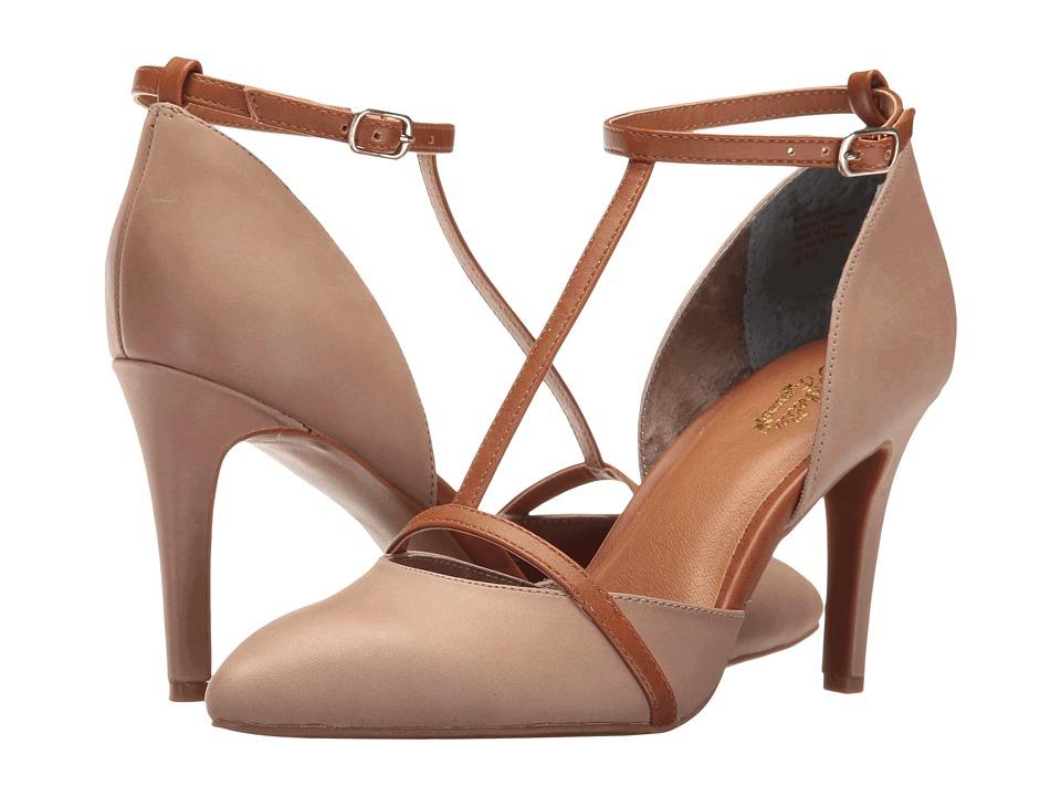 Seychelles - Zeal (Grey/Tan) High Heels