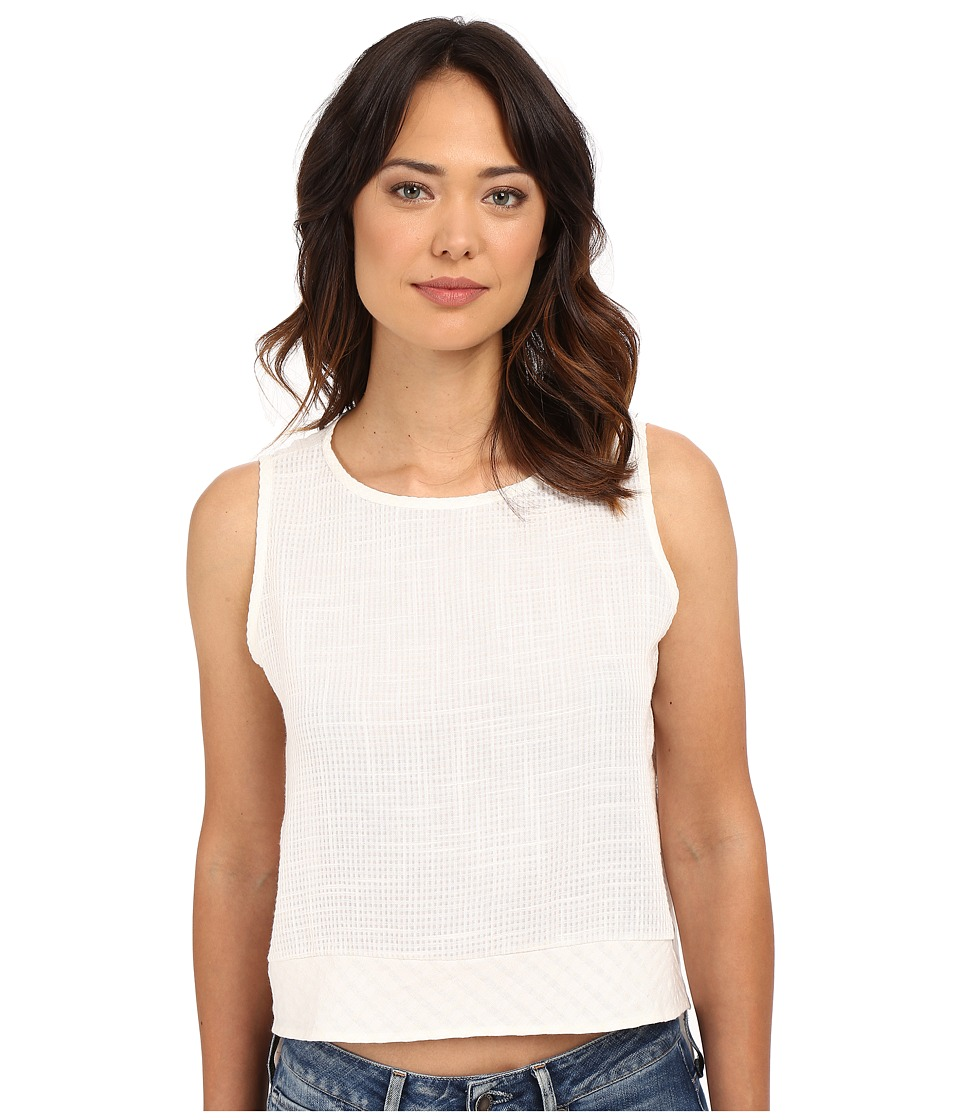 Clayton - Linen Beacon Top (Ivory) Women's Sleeveless