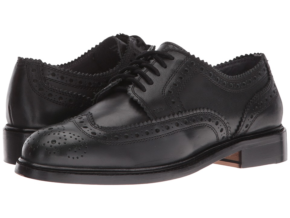 Seychelles - Ambush (Black Leather) Women's Lace up casual Shoes