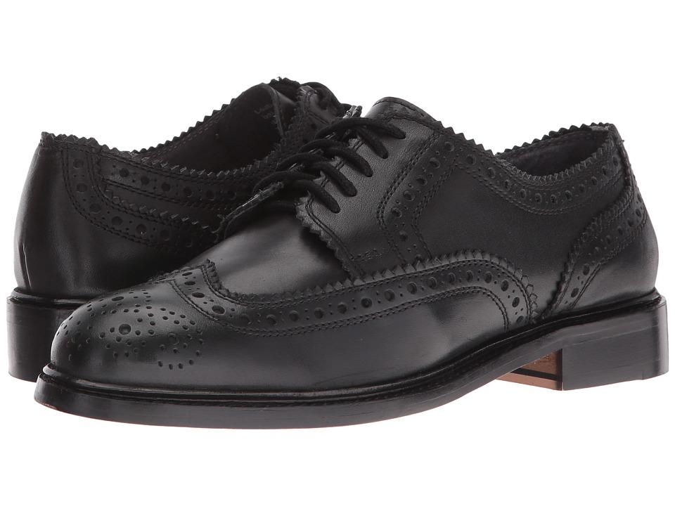 Seychelles - Ambush (Black Leather) Women's Lace up casual Shoes
