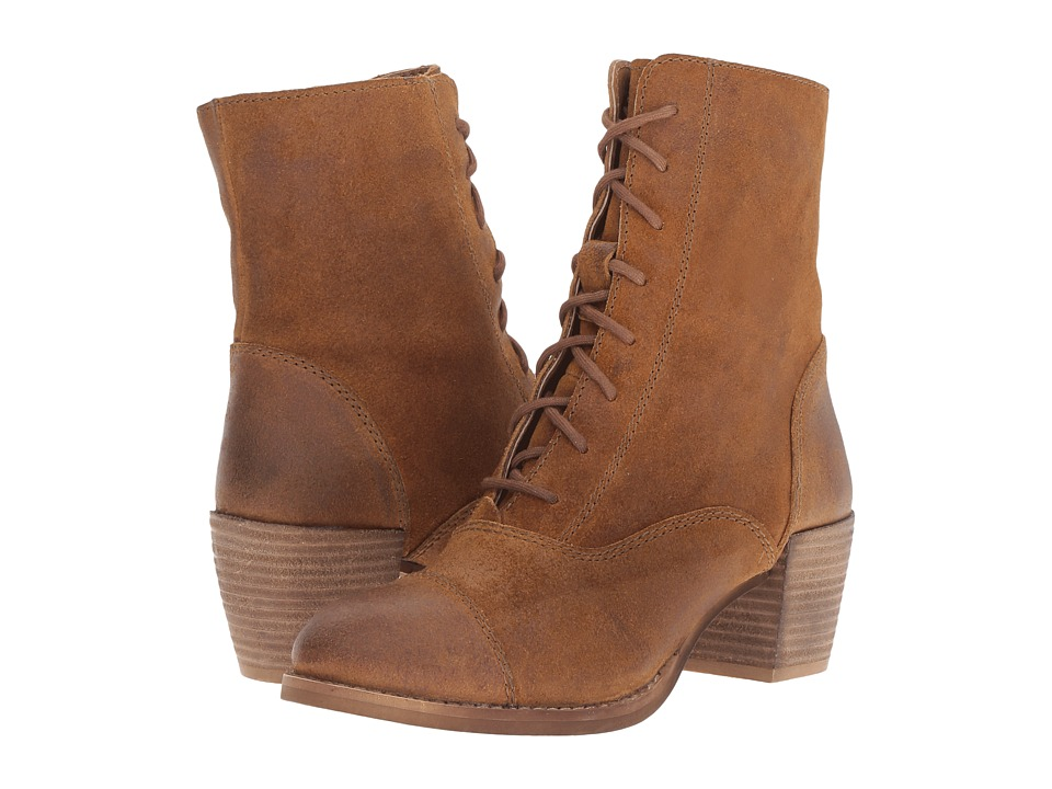 Seychelles - Pack (Tan) Women's Lace-up Boots