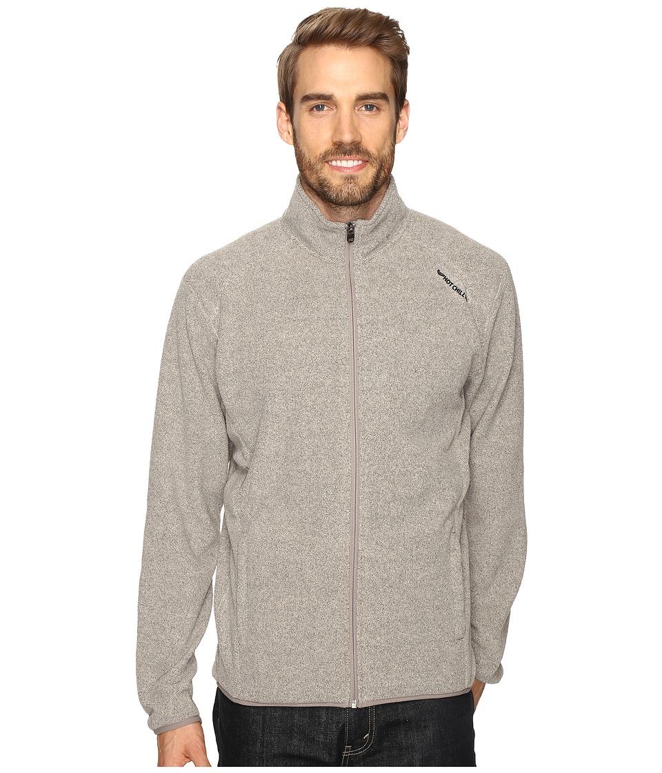 Hot Chillys - Baja Zip Jacket W/Binding (Mojave) Men's Coat