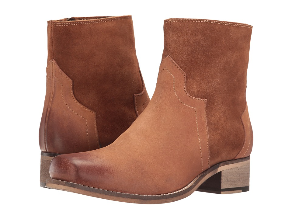 Seychelles - Crossing (Cognac Leather/Suede) Women's Boots
