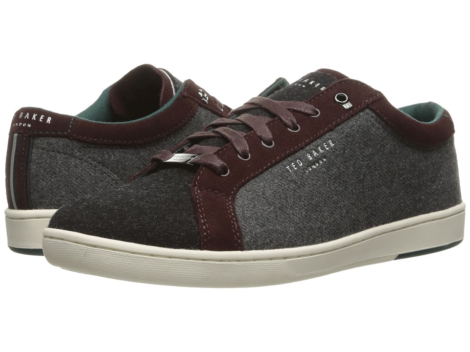 Ted Baker Minem (Dark Red Wool) Men