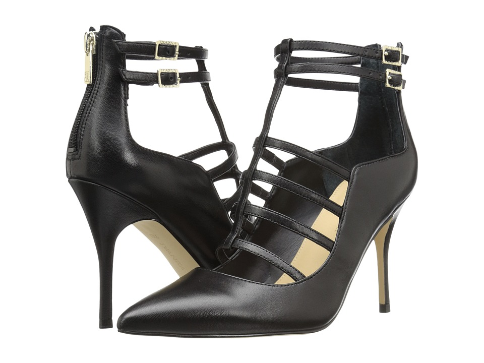 Ivanka Trump Domin (Black Leather) High Heels
