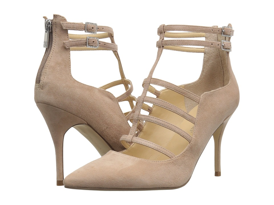 Ivanka Trump Domin (Light Natural Suede) High Heels