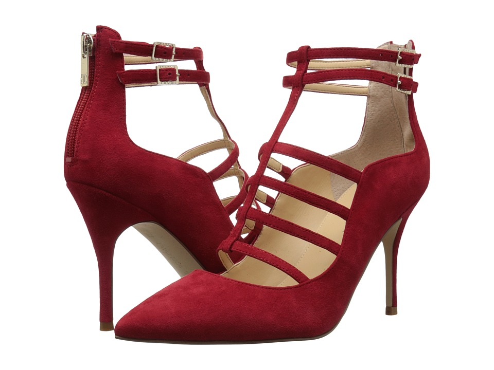 Ivanka Trump Domin (Medium Red Suede) High Heels