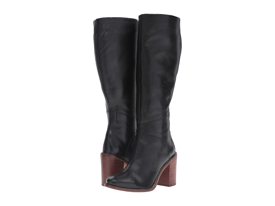 Seychelles - Memory (Black Leather) Women's Boots