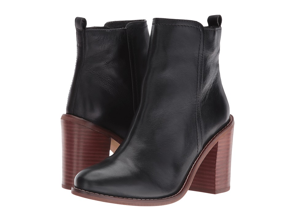 Seychelles - Lounge (Black Leather) Women's Boots