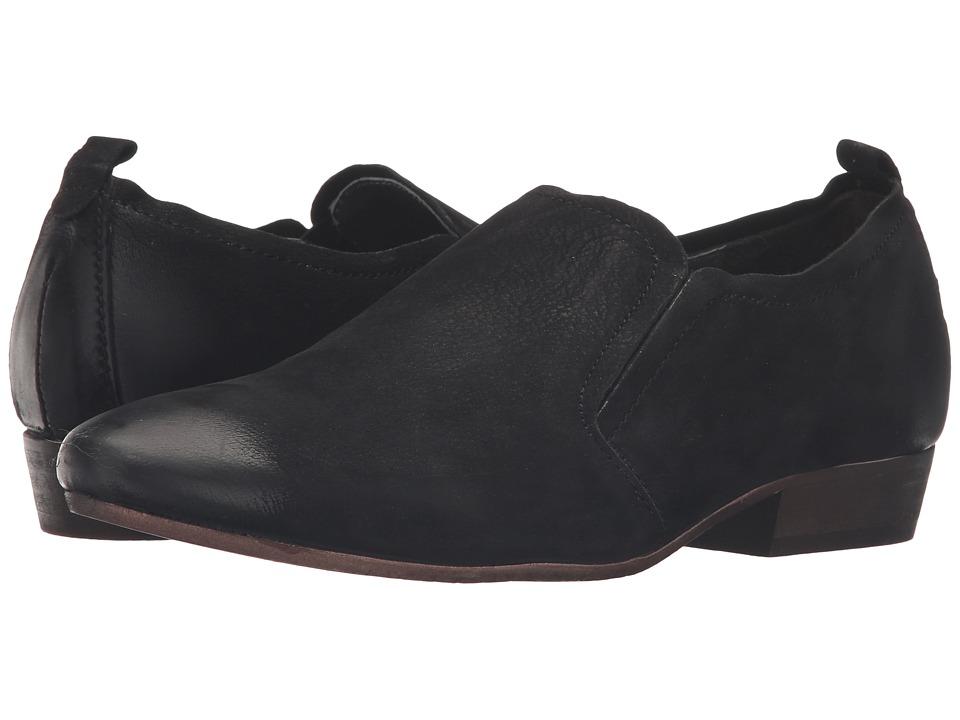 Seychelles - Skein (Black Nubuck) Women's Slip on Shoes